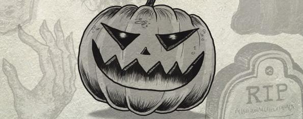 10 Halloween Photoshop Brushes