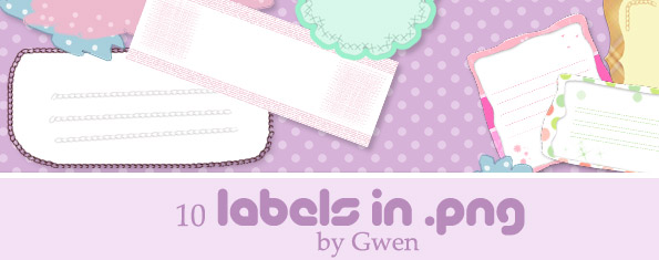 10 labels