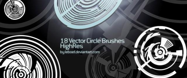 Vector Circles Brush
