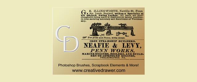 1875 Ad Brushes