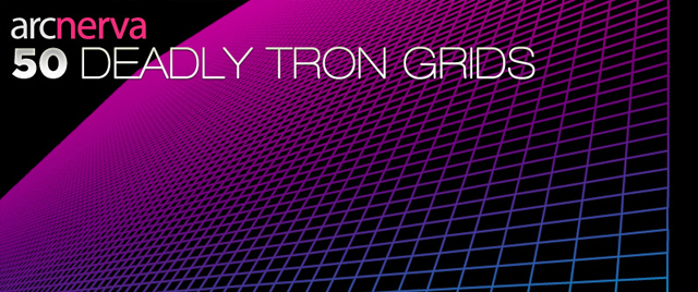 50 Deadly Tron Grids