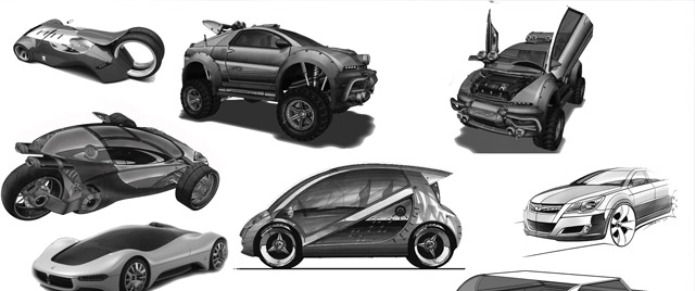 Concept Car Brushes 1