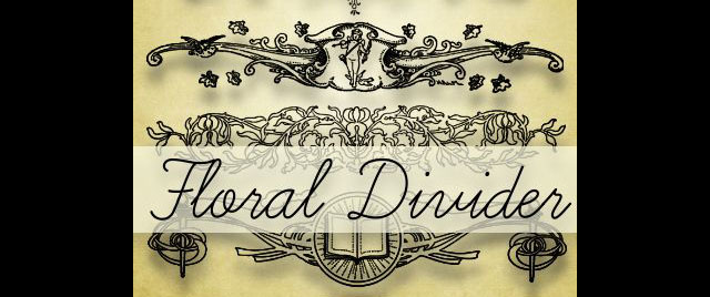 FLORAL DIVIDERS