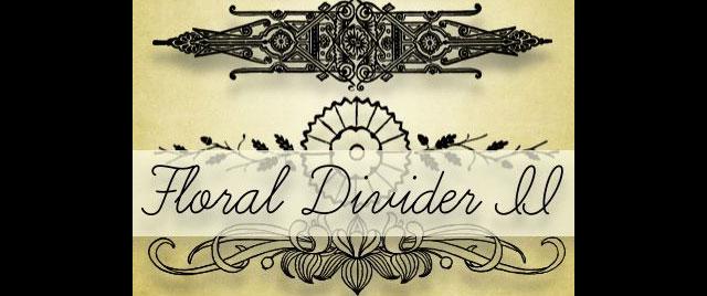 FLORAL DIVIDERS II