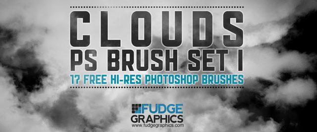 Hi-Res Clouds Brush Set 1