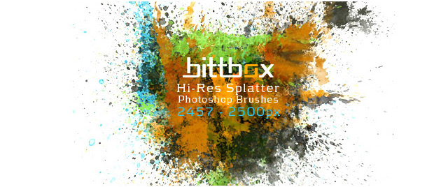Hi Res Splatter