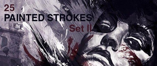 Paint Strokes Set II