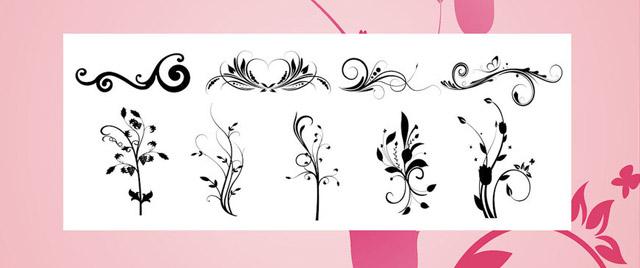 Decorative Brushes 043