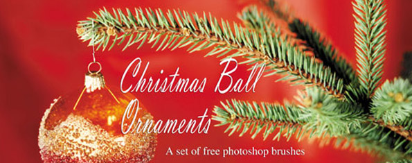Christmas Balls PS Brushes
