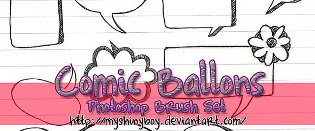 Comic Ballons