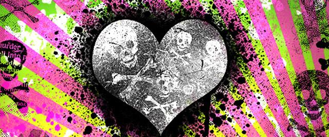 Damaged Death Skulls