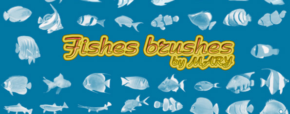 Fishes brushes