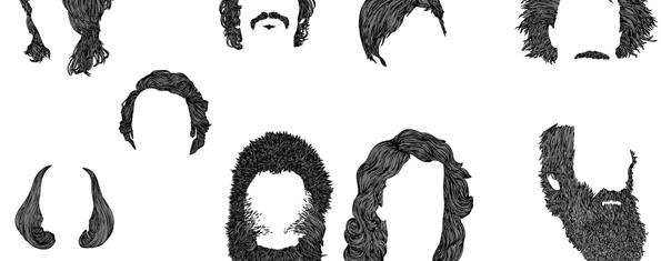 Hairs Set