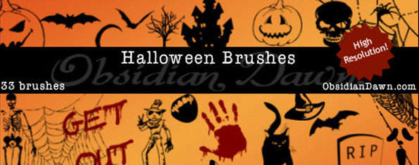 Halloween Vectors Brushes