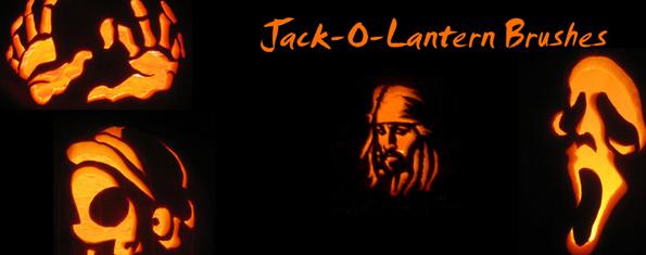 Jack o Lantern Brushes