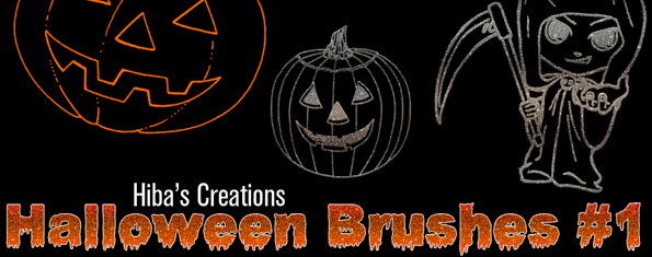 Pack1  Halloween Brushes