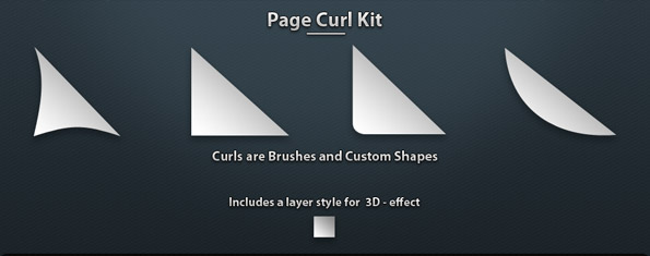 Page Curls Kit