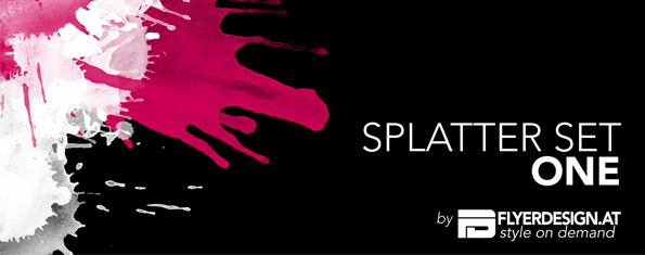 Splatter set one