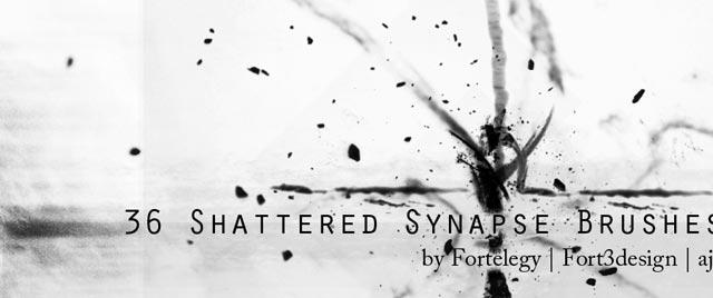 Shattered Synapse Brushes