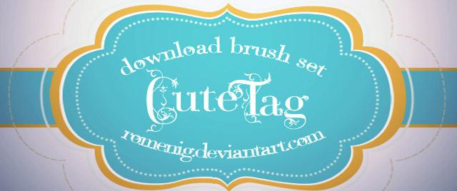 Cute Tag Free Brush Set