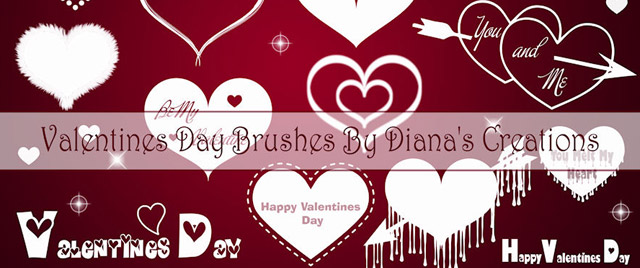 Valentine Day Brushes