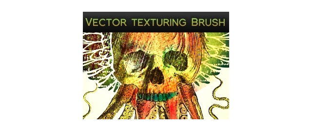 Vector Texturing Brush