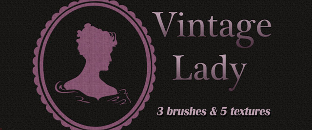 Vintage Lady Brushes