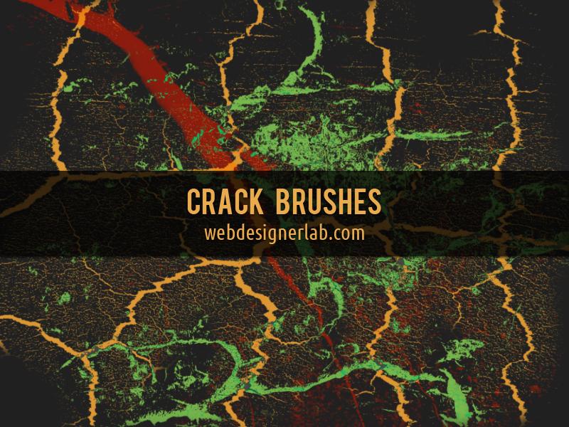 Скачать бесплатно Природа кисти для фотошопа - Crack Brushes