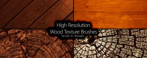 HiRes Wood Brush Set