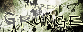 HighRess Grunge Brushes