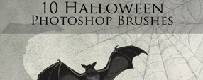 10 Halloween Photoshop Brushes