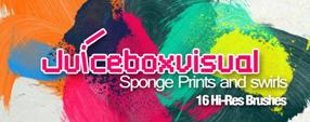 Sponge Prints