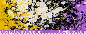 Cherry Bomb Brushes