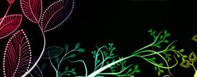 Fantasy Vines leaf