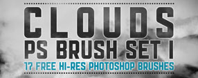 Hi-Res Clouds Brush Set 1