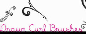 Drawn Curl Brushes