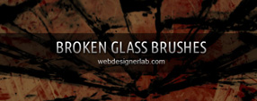 Broken Glass Brushes