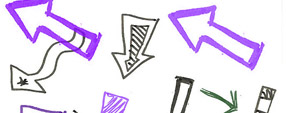Doodle Arrows Brush Set