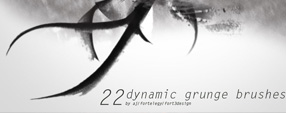 22 Dynamic Grunge Brushes