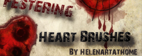 Festering Heart Brushes