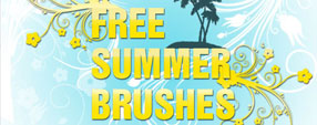 Free Summer Brushes