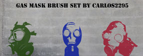 Gas Mask Brush Set