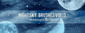 Night Sky Brushes 3