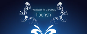 Modern Flourish Brushes