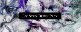 Ink Stain Brush Freebie