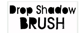 Drop Shadow Brush