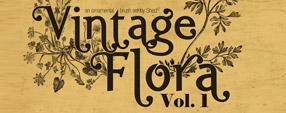 Vintage Flora Brushes V.1