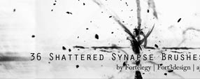 Shattered Synapse Brushes