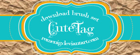Cute Tag Free Brush Set