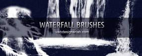 Waterfall brushes
